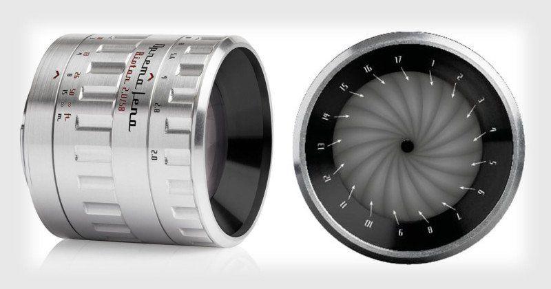Ống kính Biotar huyền thoại 17 lá khẩu sắp được hồi sinh