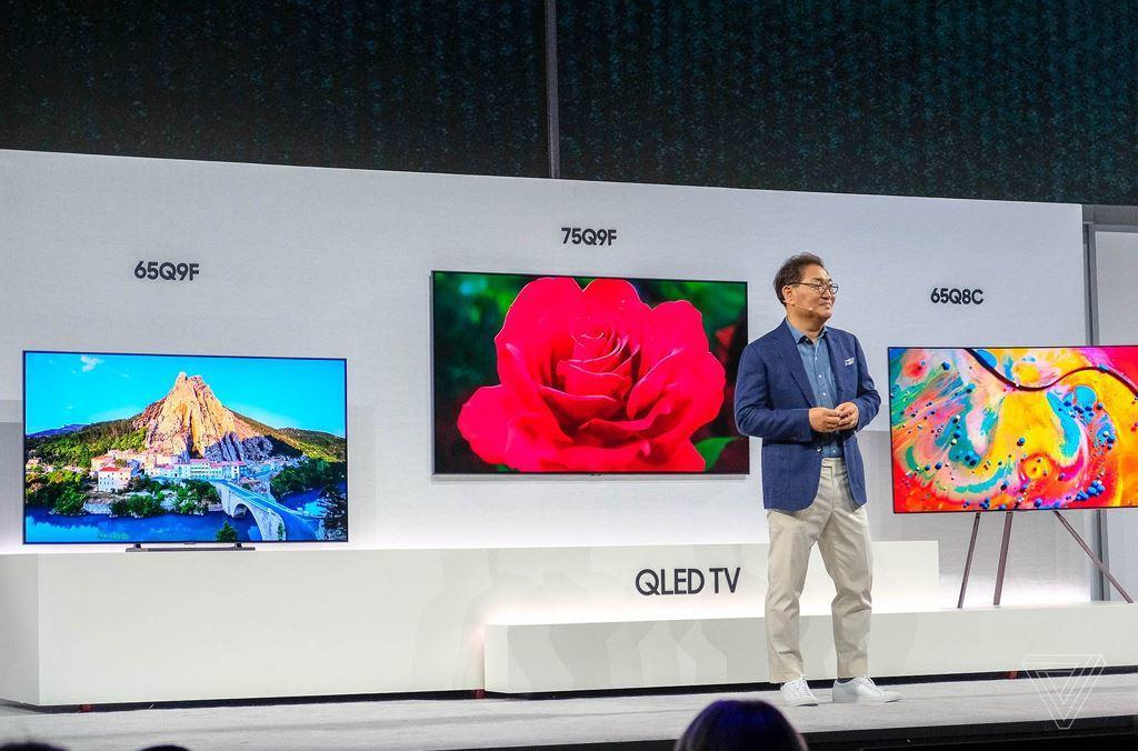 Samsung chính thức ra mắt các dòng sản phẩm TV QLED 2018 ảnh 1