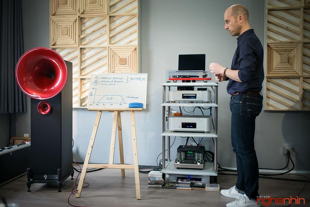 Chuyên gia Avantgarde Acousitc hướng dẫn set-up chuyên sâu cho loa kèn UNO XD ảnh 11