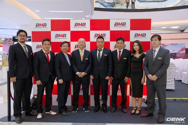 Các lãnh đạo từ BMB Nhật Bản và Việt Nam chụp lưu niệm trước thềm sự kiện