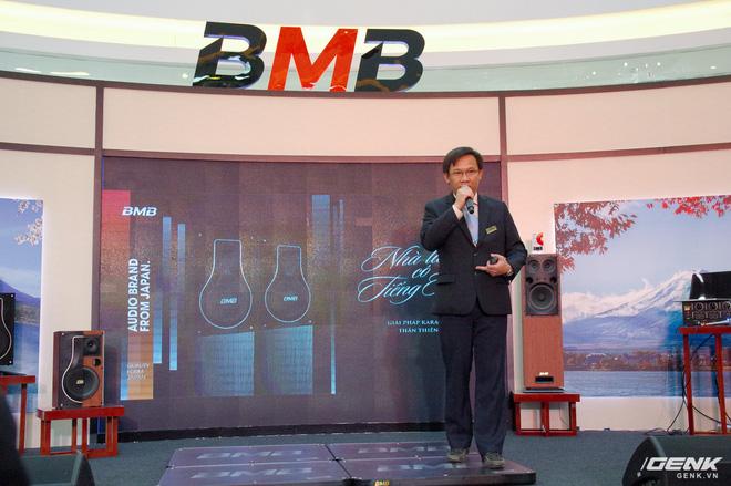 Tổng giám đốc BMB Việt Nam phát biểu giới thiệu dòng sản phẩm mới