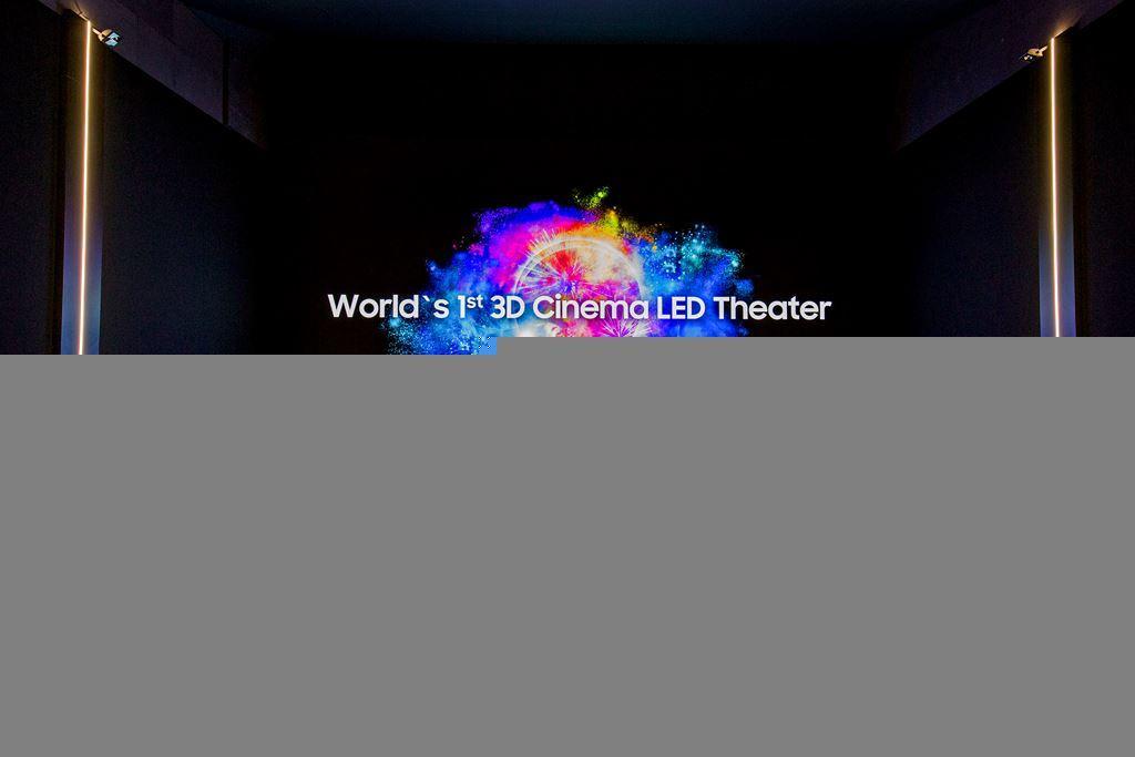 Màn hình 3D Cinema LED 4K, HDR của Samsung sử dụng đầu tiên tại Thụy Sĩ ảnh 2