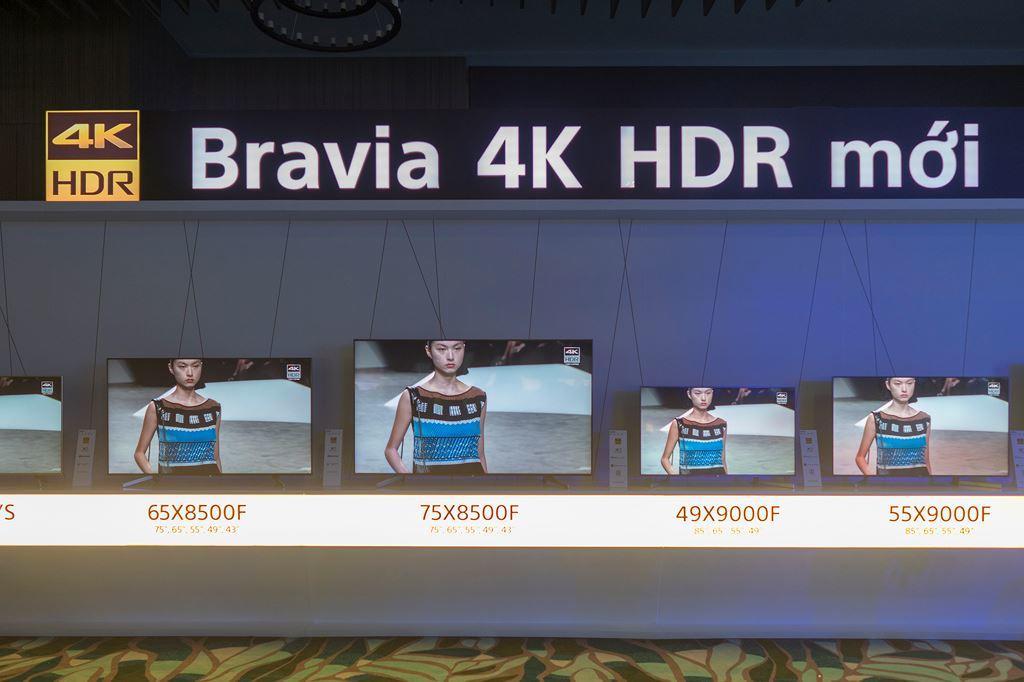 Sony công bố thế hệ TV Bravia OLED và 4K HDR mới ảnh 4