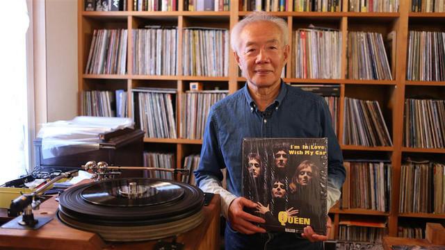 Cựu luật sư Takeo Morita tại nhà riêng