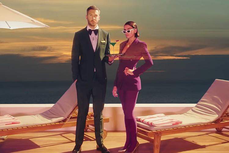 Calvin Harris và Dua Lipa tung MV retro đẹp mắt cho hit mới - Ảnh 1.