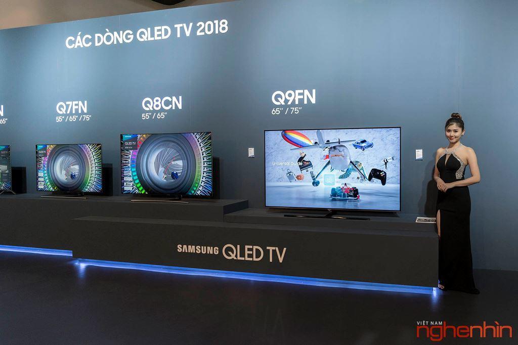 TV Samsung QLED 2018 ra mắt thị trường Việt: Nhiều kích thước và công nghệ mới ảnh 2