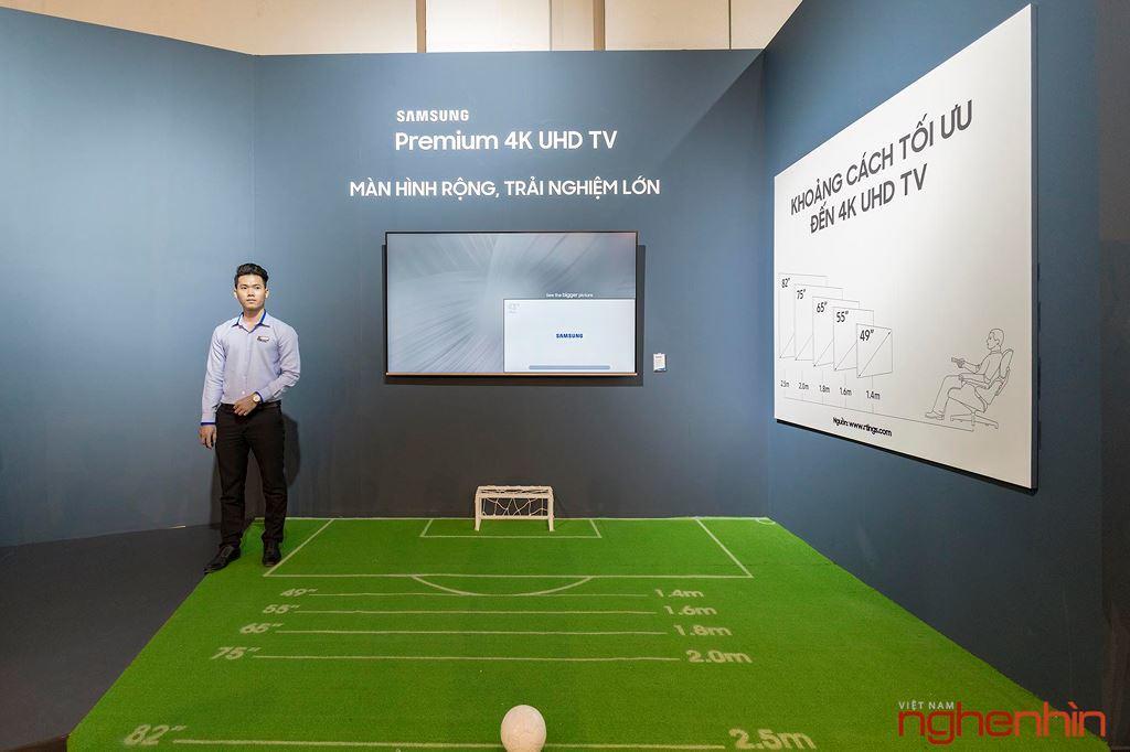 TV Samsung QLED 2018 ra mắt thị trường Việt: Nhiều kích thước và công nghệ mới ảnh 8