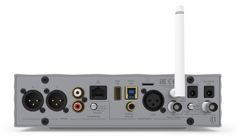 iFi Audio chính thức phát hành DAC/Streamer đầu bảng Pro iDSD