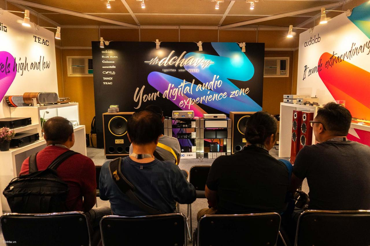 Hong Kong High End Audio Visual Show 2018 can canh