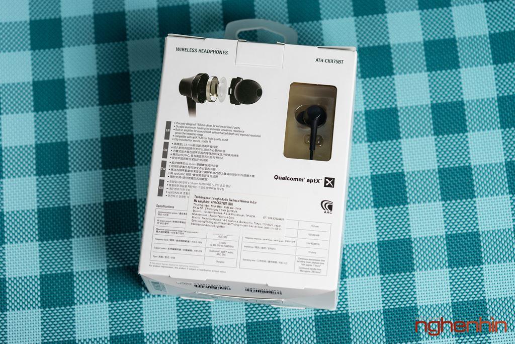 Trải nghiệm Audio Technica CKR75BT - Độ hoàn thiện chất âm cao ảnh 2