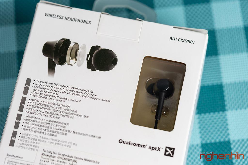 Trải nghiệm Audio Technica CKR75BT - Độ hoàn thiện chất âm cao ảnh 3