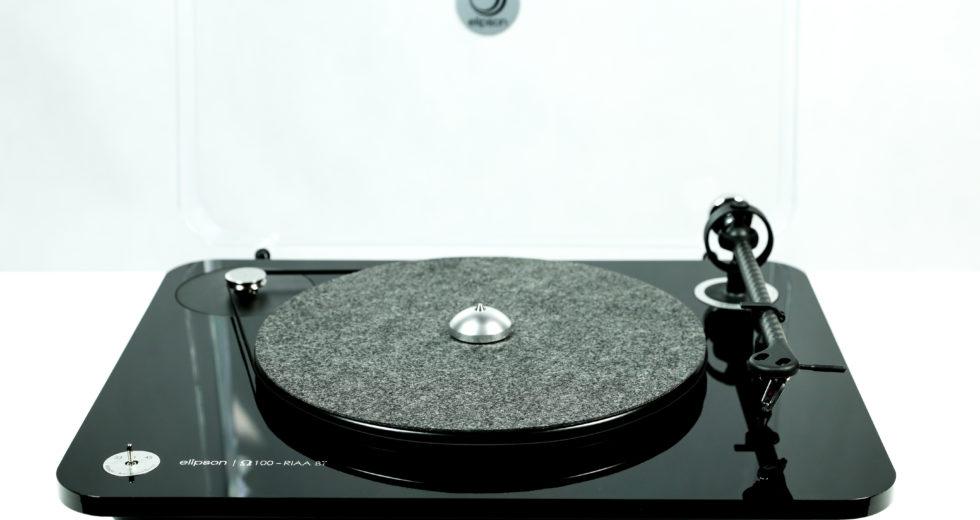 Đầu đĩa than Elipson Omega 100 RIAA BT Carbon Black tích hợp kết nối bluetooth