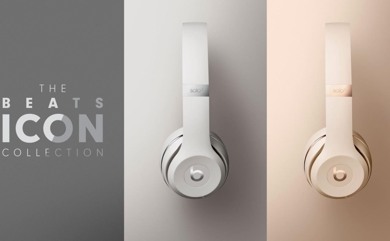 Beats bổ sung màu mới giống với iPhone XS và iPhone XR