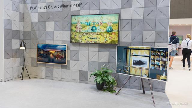Ghé thăm gian hàng Samsung tại IFA 2018: công nghệ hiện đại kết hợp với nghệ thuật cổ điển - Ảnh 4.