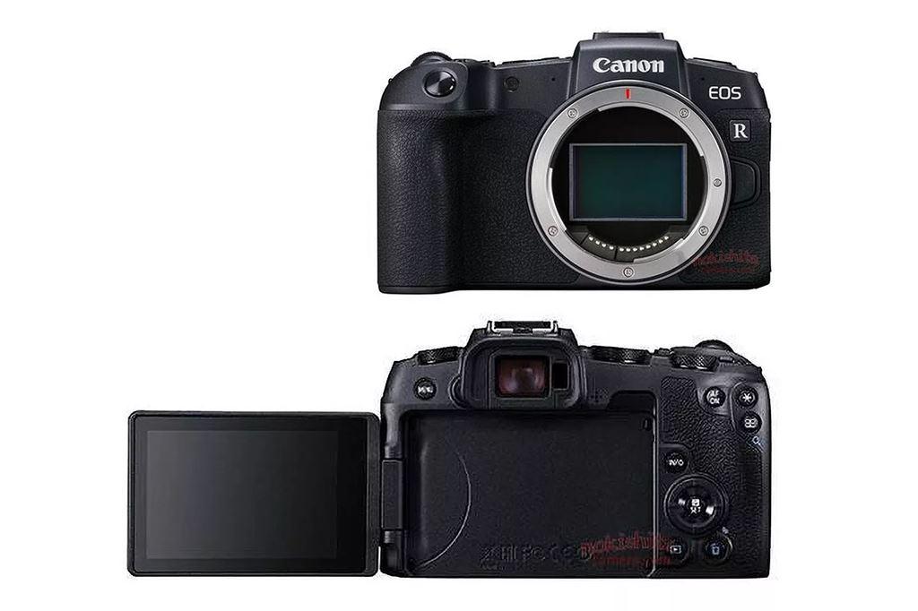 Rò rỉ mirrorlessFull-Frame tầm trung Canon EOS RP: nhỏ nhẹ và rẻ hơn ảnh 1