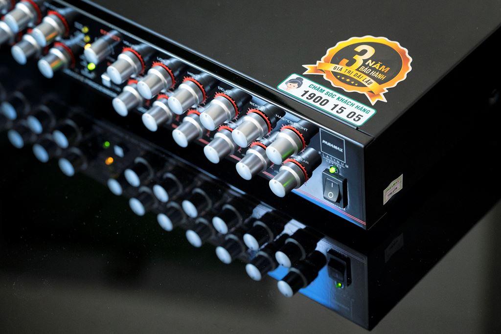 PARAMAX PLATINUM DX-2500AIR DSP giải pháp hiệu quả cho trải nghiệm Karaoke chuyên nghiệp tại gia ảnh 1