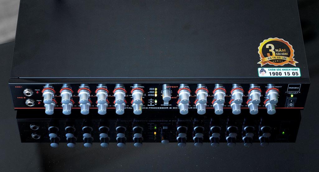 PARAMAX PLATINUM DX-2500AIR DSP giải pháp hiệu quả cho trải nghiệm Karaoke chuyên nghiệp tại gia ảnh 6