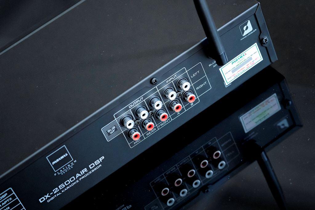 PARAMAX PLATINUM DX-2500AIR DSP giải pháp hiệu quả cho trải nghiệm Karaoke chuyên nghiệp tại gia ảnh 4