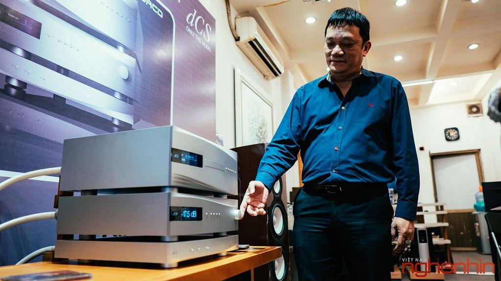 Đầu phát dCSRossini CD/SACD Transport trình diện giới Audiophile tại Việt Nam ảnh 1