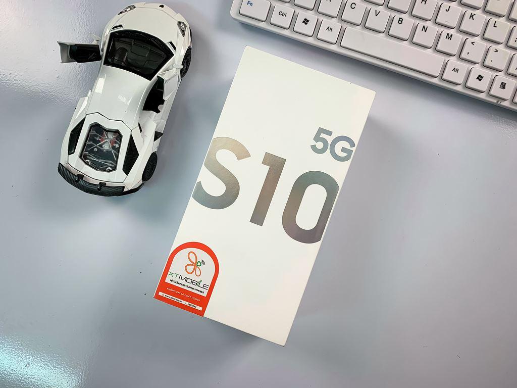 Trên tay Samsung Galaxy S10 5G đầu tiên tại Việt Nam: 6 camera, giá 26 triệu ảnh 1