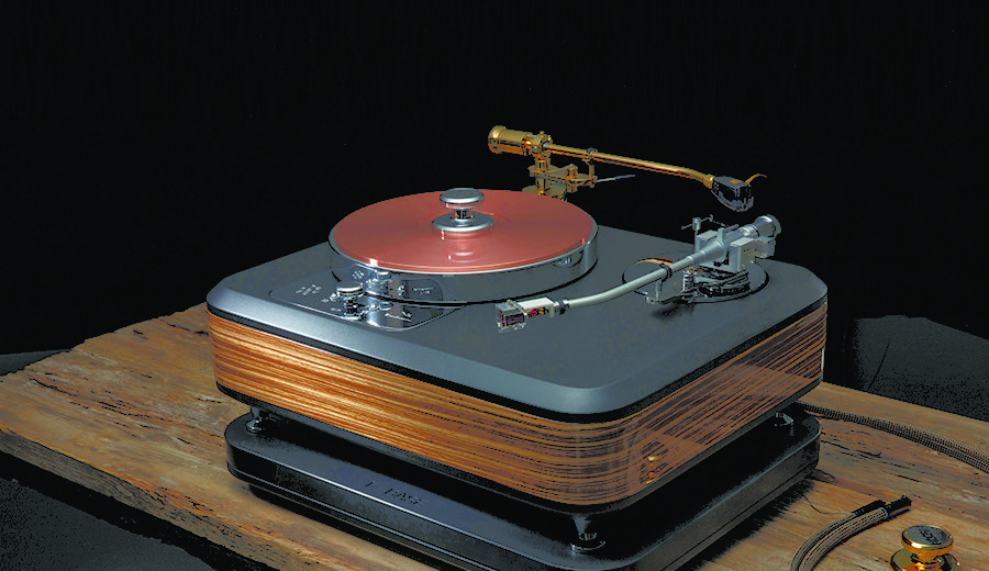 Chất âm mạnh mẽ đến từ thiết kế đầu đĩa than Torqueo Audio T-34 Exclusive
