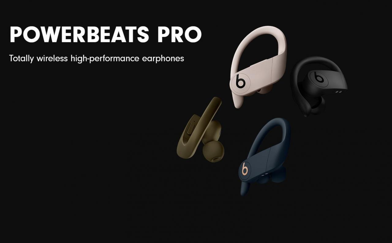 Powerbeats Pro chính thức ra mắt, trang bị chip H1, pin 9h, chống nước