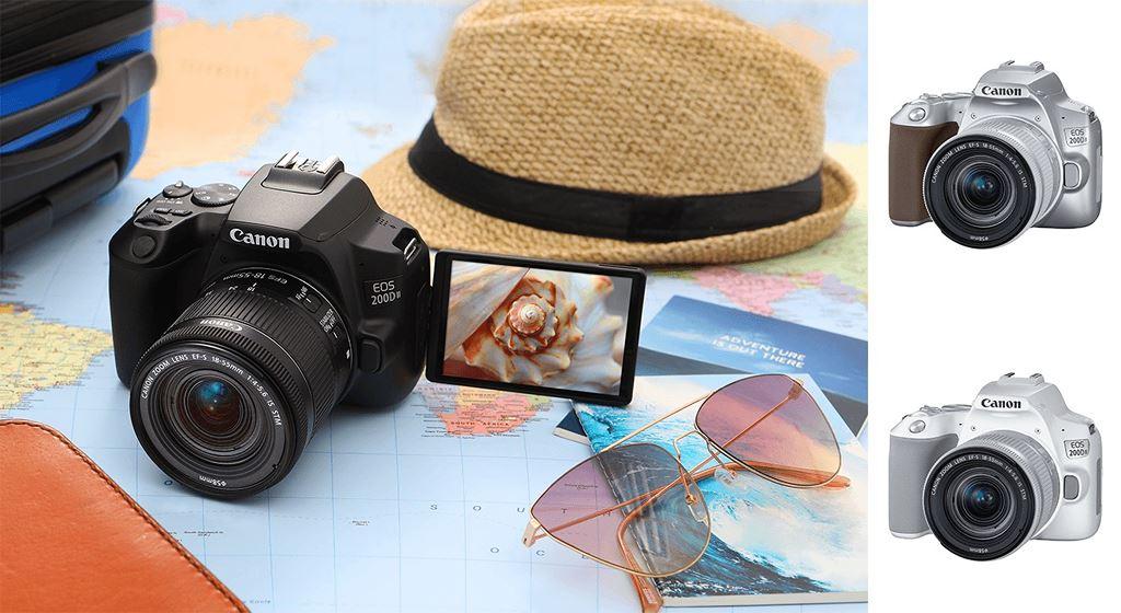 Canon ra mắt mẫu máy ảnh mới EOS 200D II với mức giá 16,5 triệu đồng ảnh 1