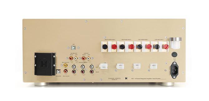 Daniel Hertz M11 - Độc đáo với thiết kế ampli mới nhất của huyền thoại Mark Levinson ảnh 4