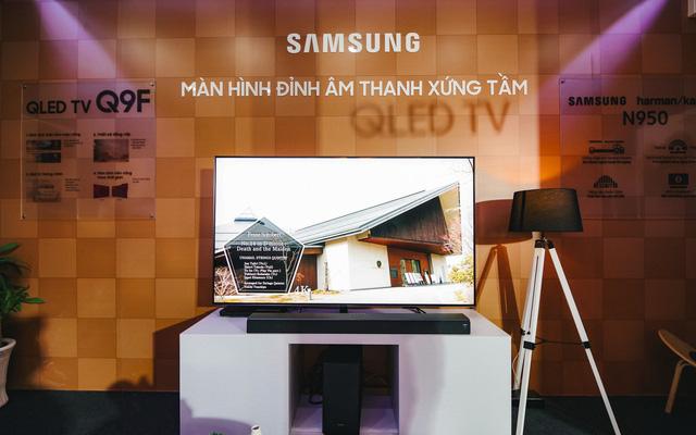 Samsung chính thức giới thiệu TV khung tranh The Frame 2.0 và loa Sound Bar HW-N950 đến người dùng Việt Nam