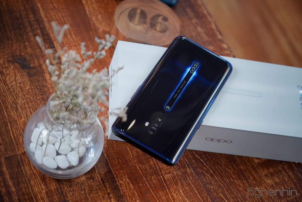 Mở hộp Oppo Reno 2: thiết kế đẹp, độc đáo, nâng cấp camera và hiệu năng! ảnh 15