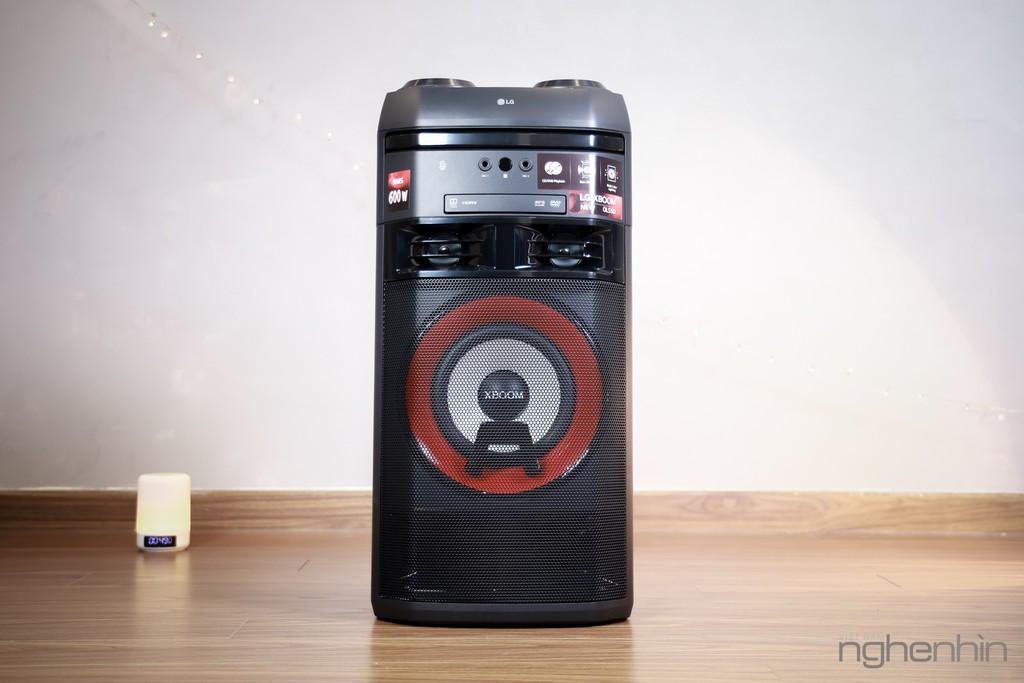 Trải nghiệm loa LG XBoom OL55D: nghe nhạc công suất lớn, hát karaoke, chà đĩa DJ với giá 7 triệu ảnh 1