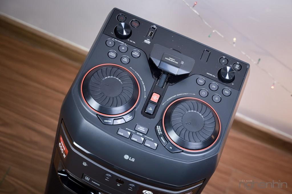 Trải nghiệm loa LG XBoom OL55D: nghe nhạc công suất lớn, hát karaoke, chà đĩa DJ với giá 7 triệu ảnh 4