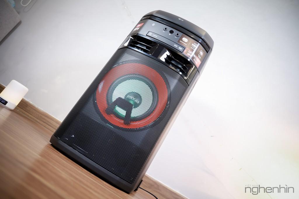 Trải nghiệm loa LG XBoom OL55D: nghe nhạc công suất lớn, hát karaoke, chà đĩa DJ với giá 7 triệu ảnh 9