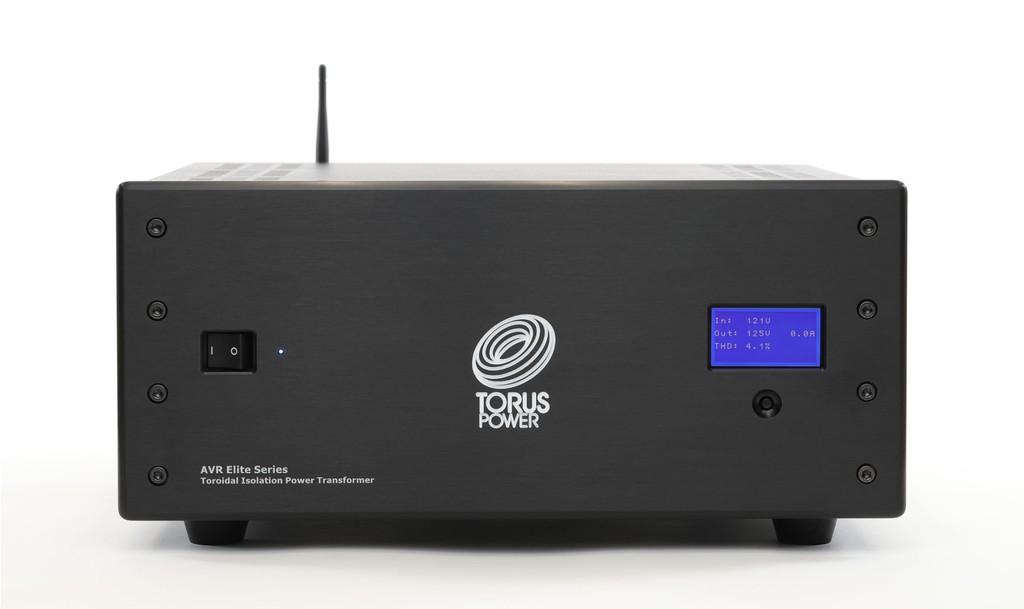 AVR Elite Series - Dòng biến áp cách li đầu bảng mới của Torus Power, nâng cấp ổn định điện thế, kết nối Wifi ảnh 2