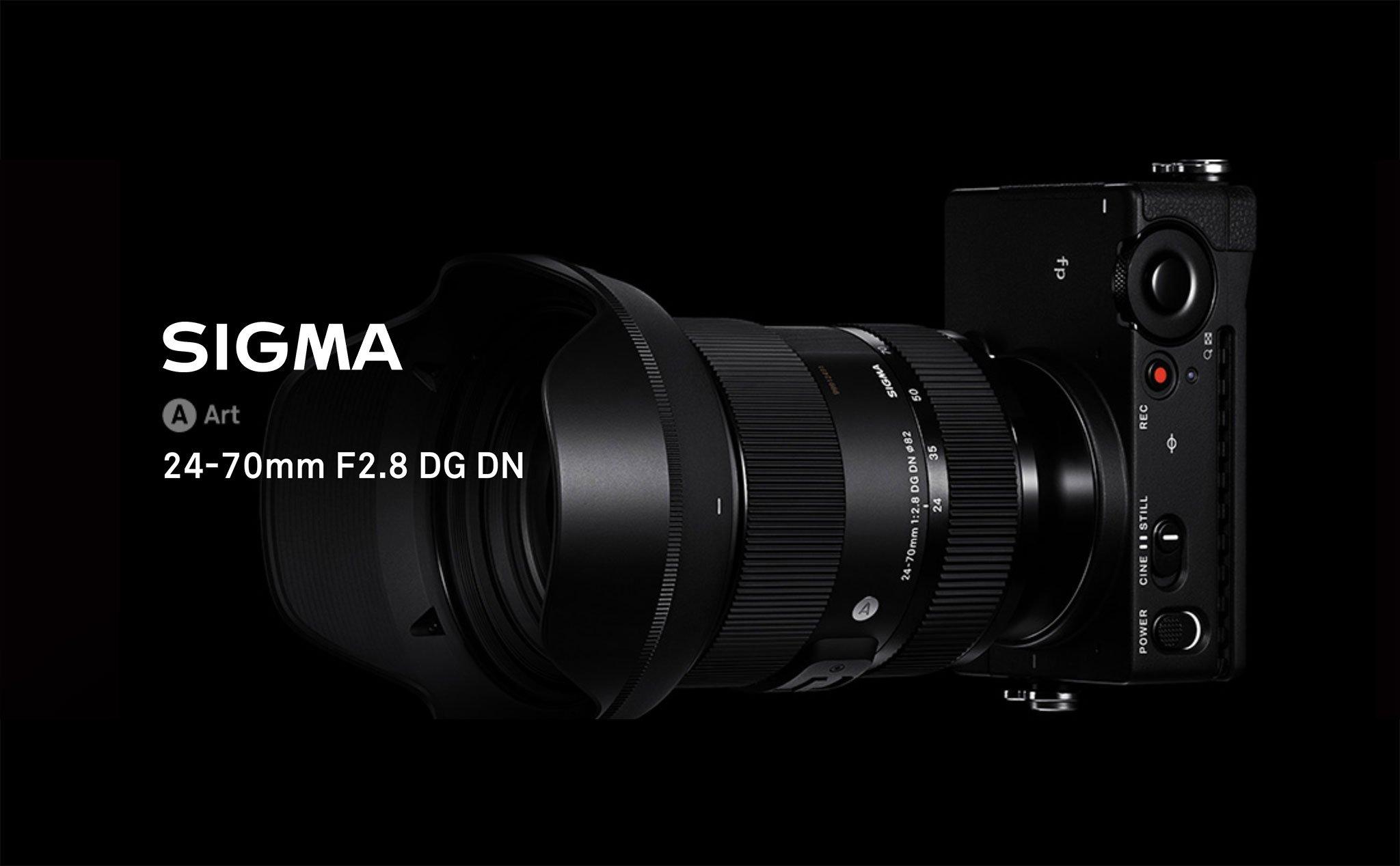 Sigma công bố ống kính 24-70mm F2.8 DG DN Art cho Sony E-mount và liên minh máy ảnh ngàm L-mount