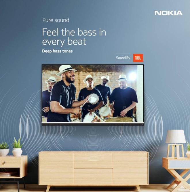 Nokia giới thiệu TV 55 inch với màn hình 4K UHD và JBL Audio tại Ấn Độ - Ảnh 1.