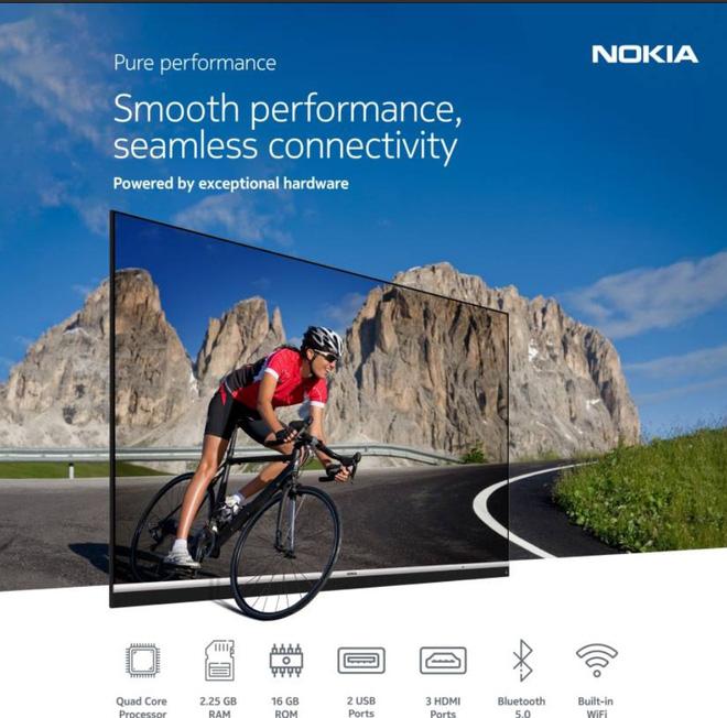 Nokia giới thiệu TV 55 inch với màn hình 4K UHD và JBL Audio tại Ấn Độ - Ảnh 2.