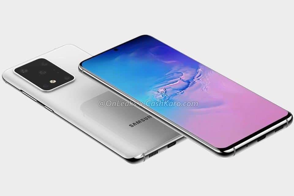 Samsung Galaxy S20 lộ diện thiết kế rõ nét ảnh 1