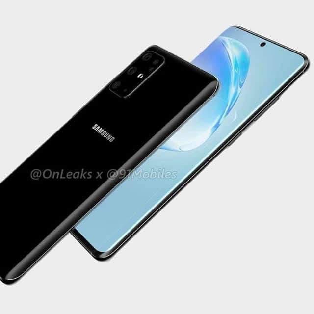 Samsung Galaxy S20 lộ diện thiết kế rõ nét ảnh 2