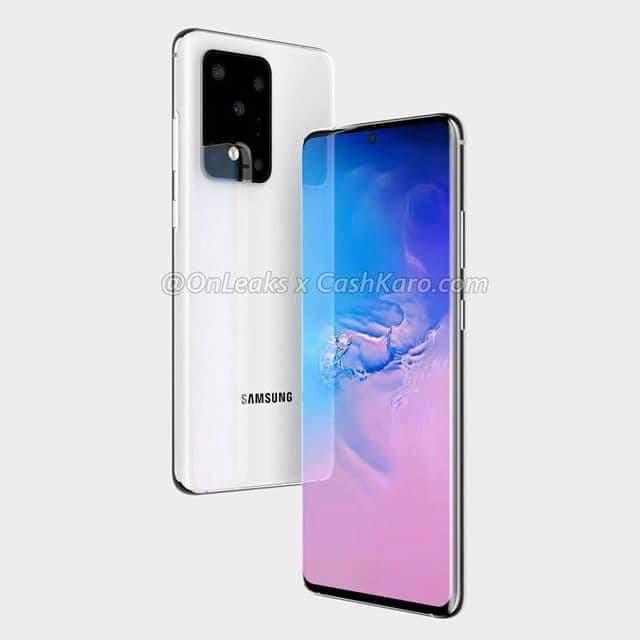 Samsung Galaxy S20 lộ diện thiết kế rõ nét ảnh 3