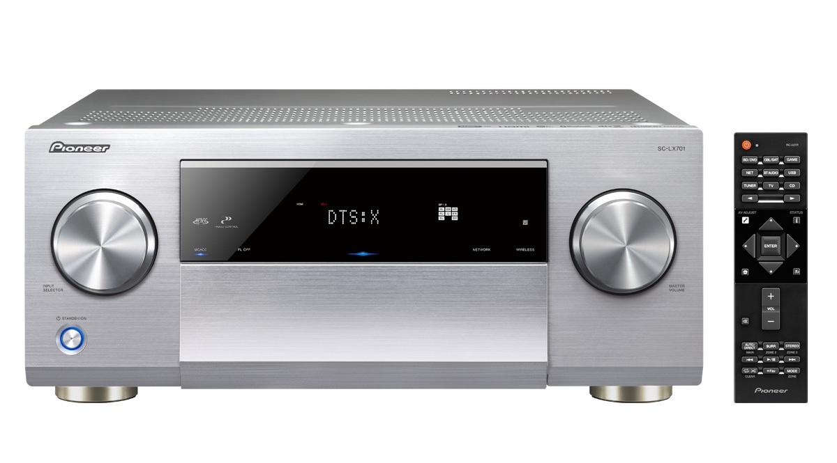 ampli pioneer sc lx701 silver