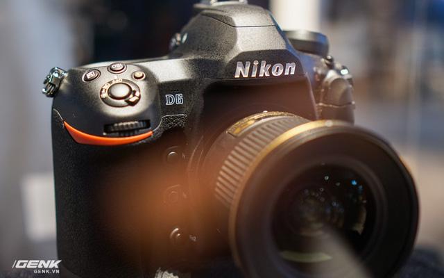 [CES 2020] Trên tay bộ đôi máy ảnh DSLR Nikon D6 và D780