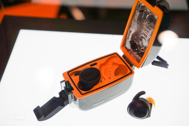 [CES 2020] Trên tay những cặp tai nghe hầm hố của Klipsch hợp tác với hãng xe McLaren - Ảnh 8.