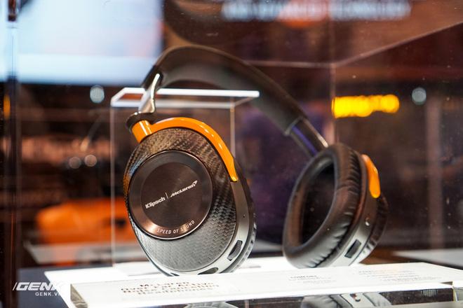 [CES 2020] Trên tay những cặp tai nghe hầm hố của Klipsch hợp tác với hãng xe McLaren - Ảnh 9.