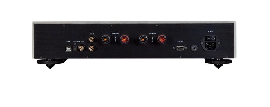 Goldmund Telos 7 NextGen, ampli Thuỵ Sĩ 190W tích hợp USB DAC với mức giá ấn tượng ảnh 5