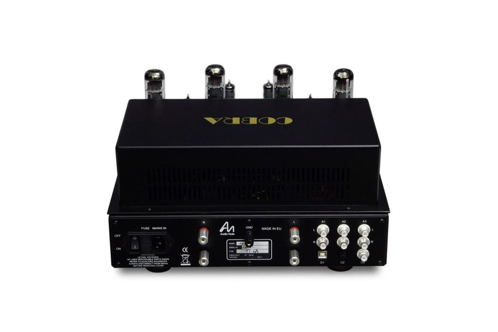Audio Note (UK) Cobra, ampli đèn EL34 có sẵn DAC với giá không phải nghĩ ảnh 4