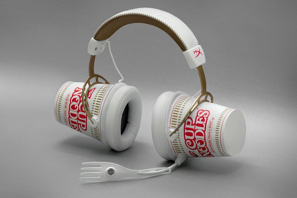 Nissin hợp tác cùng HyperX ra mắt tai nghe Cup Noodle phiên bản giới hạn trên toàn cầu ảnh 3