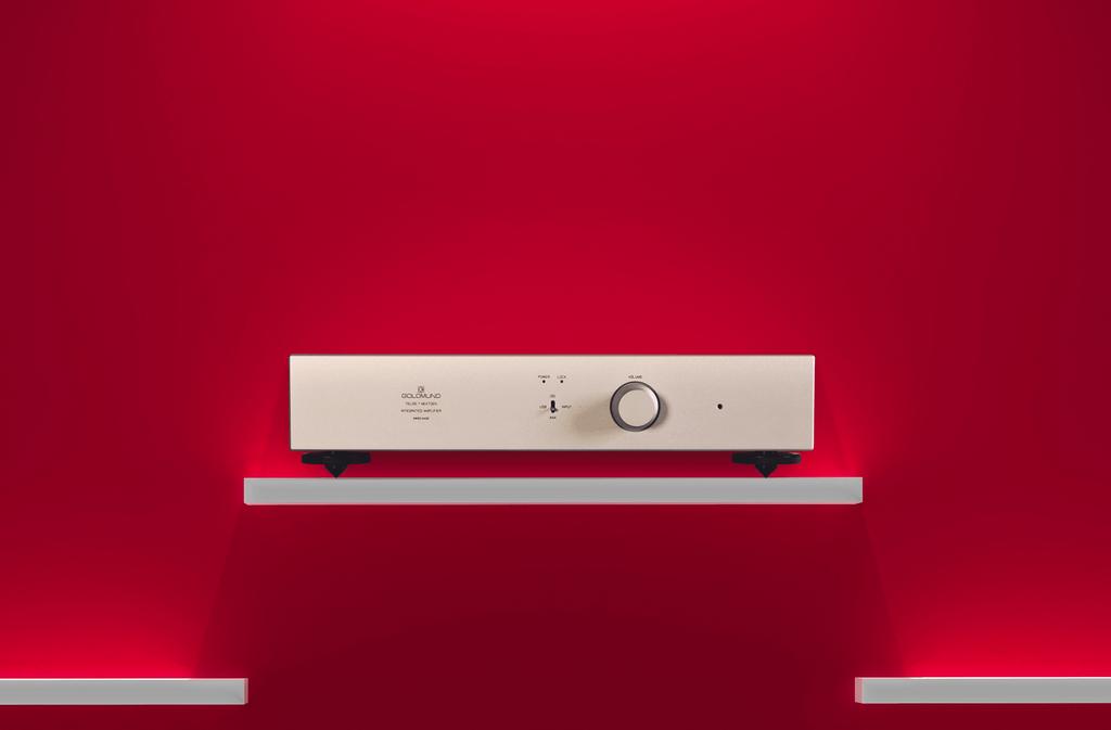 Goldmund Telos 7 NextGen, ampli Thuỵ Sĩ 190W tích hợp USB DAC với mức giá ấn tượng ảnh 1