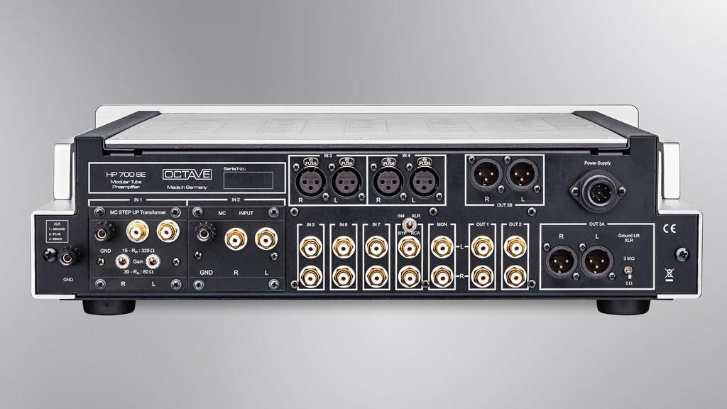 Octave chính thức bán ampli V 70 Class A và preamp HP 700 SE ảnh 3