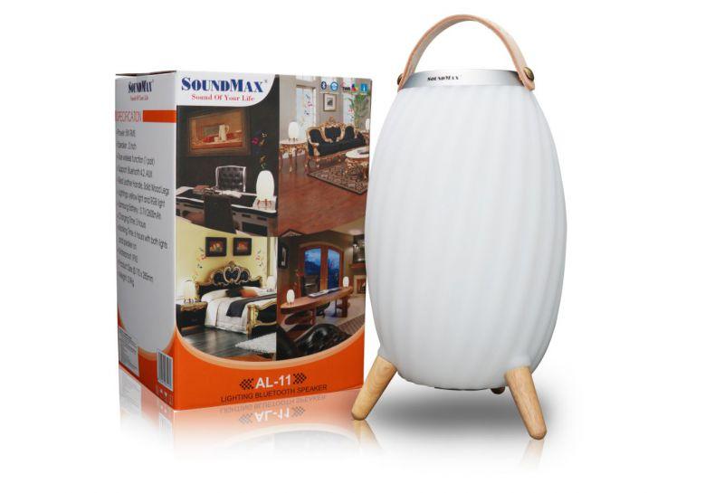 SoundMax AL-11: Loa sành điệu kiêm đèn lồng phát sáng